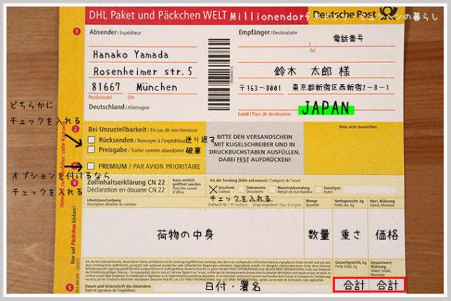 Paket Dhl International